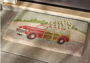 woody car floor mat