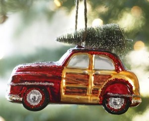woody car ornament
