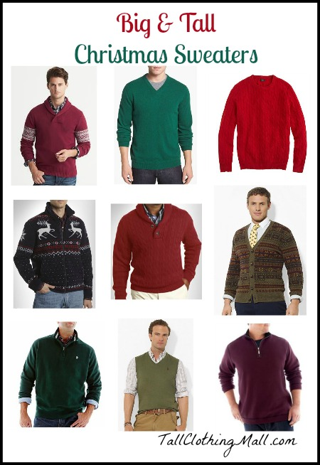 Big And Tall Ugly Christmas Sweater   User Guide Manual Download