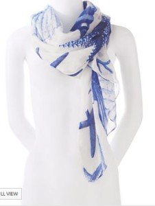seascape scarf on sale