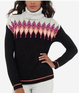 tall fair isle sweater on sale