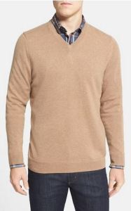 v-neck big and tall cashmere sweater