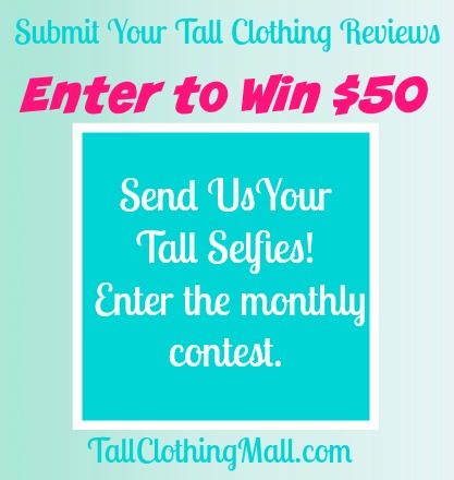 submit your tall clothing reviews