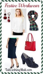festive tall workwear