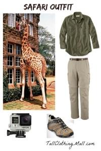 tall safari outfit