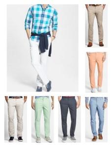 men's tall slim fitting khakis