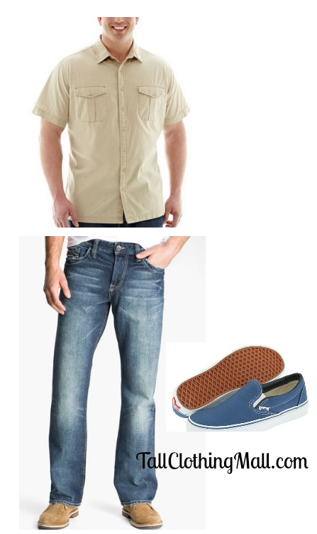 Casual cool tall outfit tall clothing mall for Big and tall cool shirts