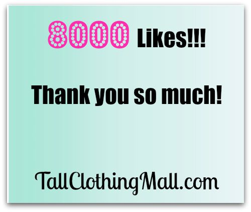 tall clothing mall facebook fans