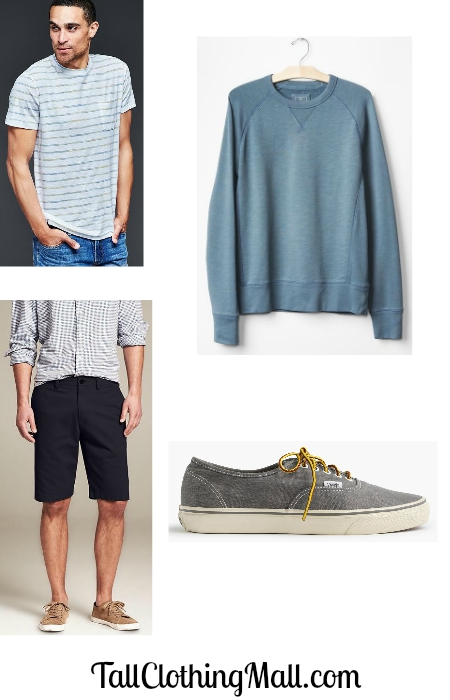 mens tall outfit for labor day