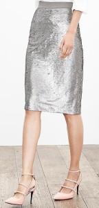 tall sequin skirt