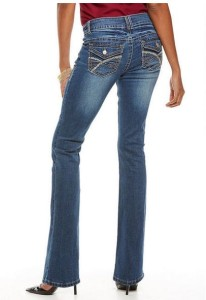 women's tall bling jeans