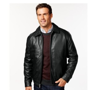 mens tall sales leather jacket
